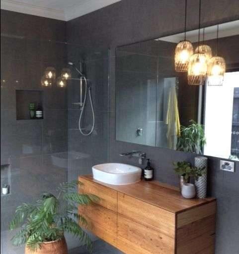 bagno in stile nordico