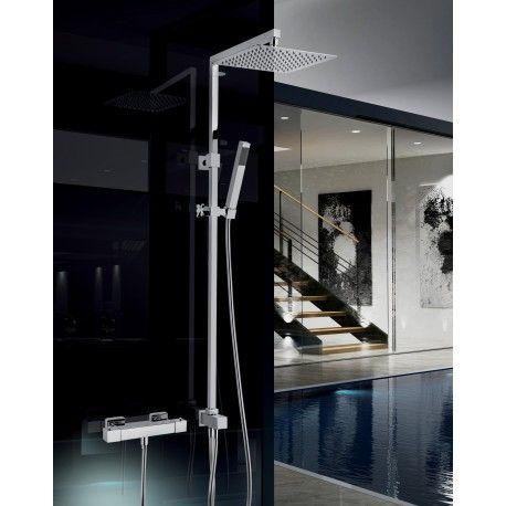 colonna doccia senza miscelatore termostatico- vantaggi e svantaggi
