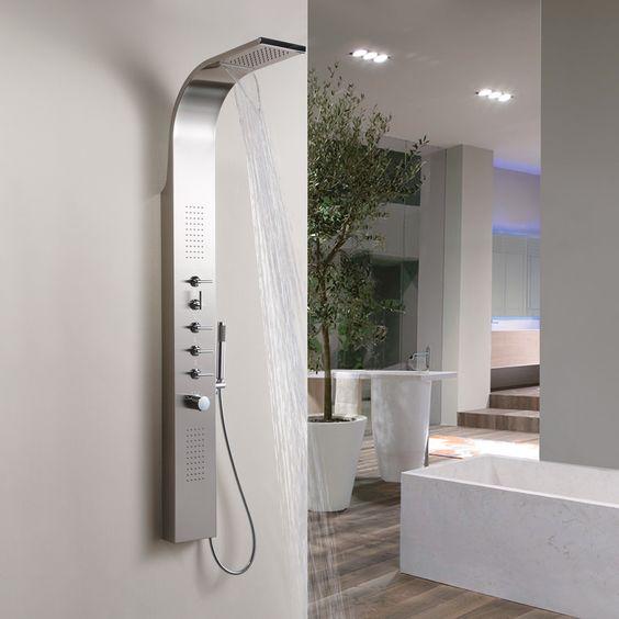 colonne doccia con miscelatore