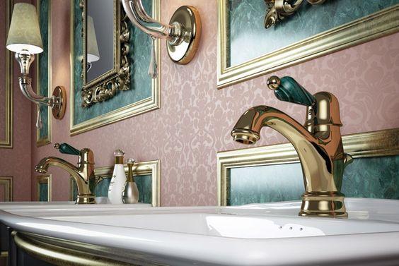 Quale rubinetti e miscelatori scegliere per bagno di lusso