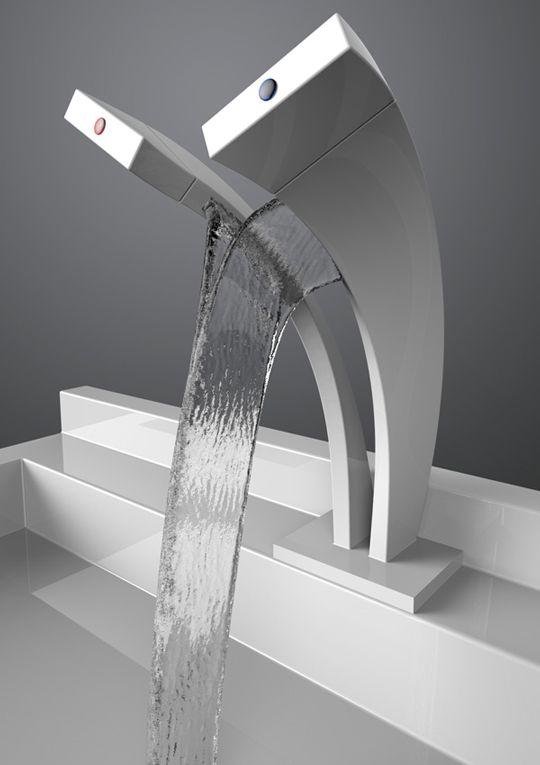 rubinetto a cascata